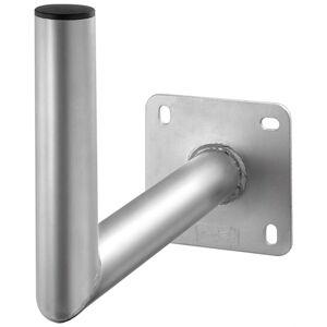Goobay Aluminium Parabolskål Vægbeslag, grå