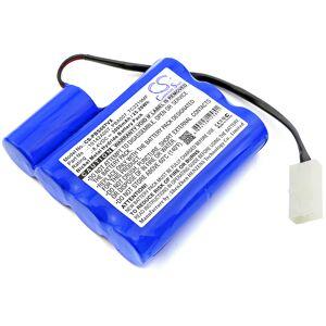 CS Batteri til MTC Støvsuger 3937 MEGATECH - 3000mAh (Kompatibelt)