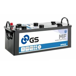 GS YUASA GS MF622 Super Heavy Duty Lastbilbatteri - 12V 150Ah 900CCA