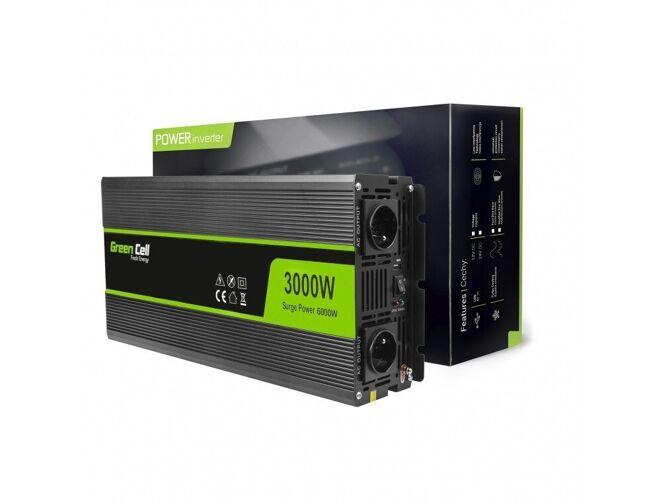 Green Cell Inverter til bil 12V ...