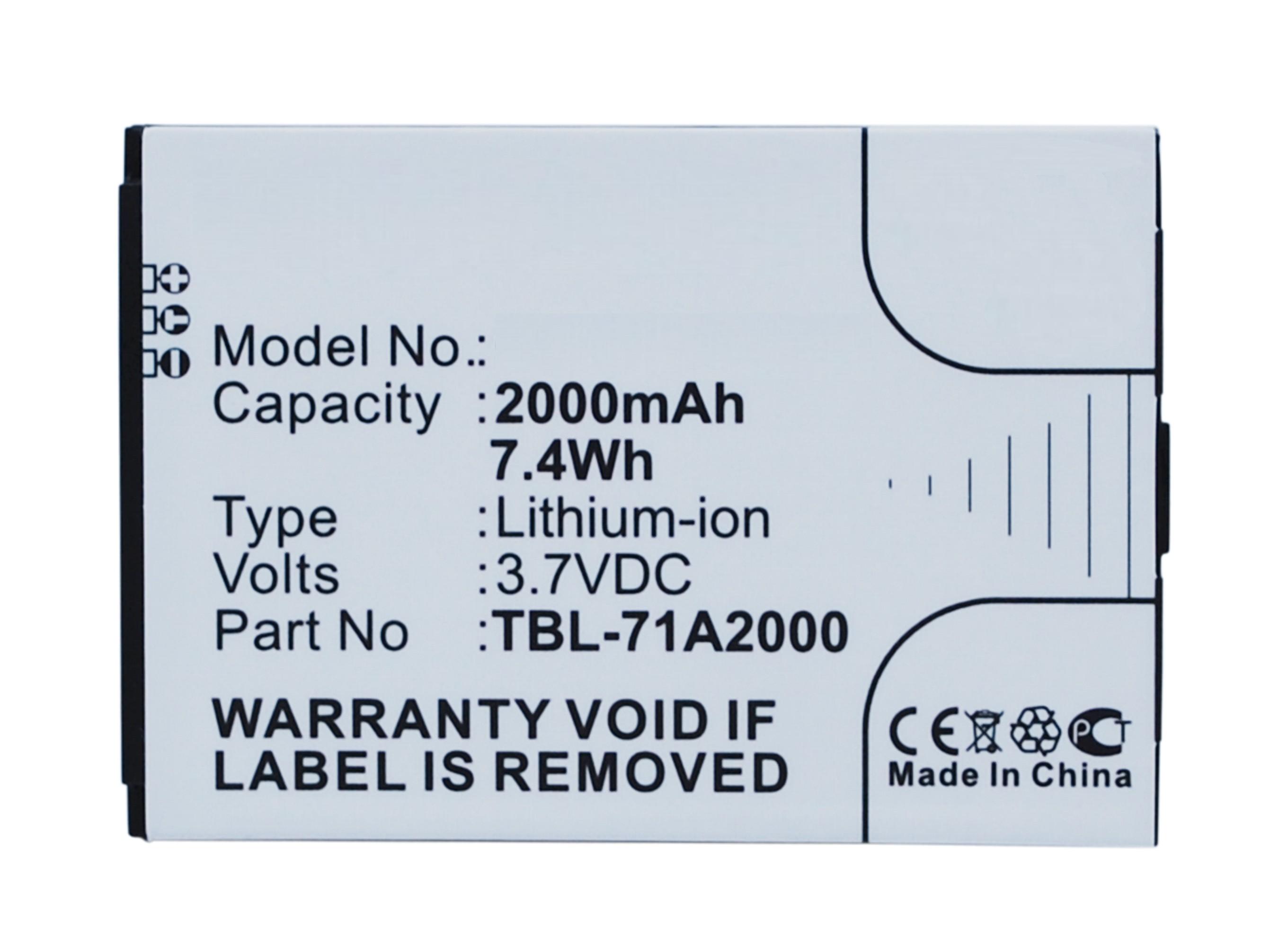 Noname Batteri til TP-LINK TL-M5350 / TL-TR761 / TL-TR861 (Kompatibel)