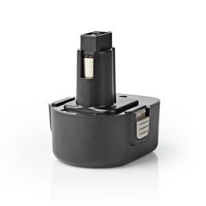 Nedis Elværktøjsbatteri 12V 2Ah til Black & Decker