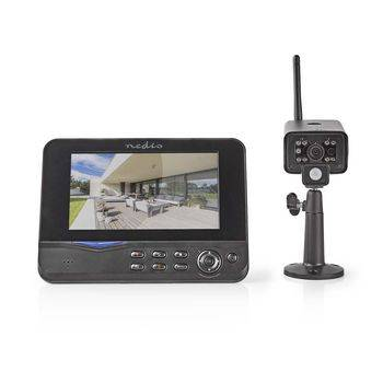Nedis, Digitalt trådløst overvågningssystem, 2,4 GHz, 1 x...
