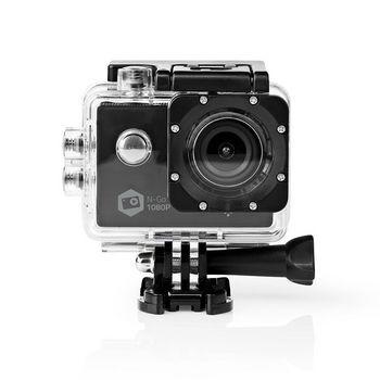 Nedis, Action Cam,1080px30fps, 12 MPixel, Vandtæt op til: 30.0 m , 90 min,...