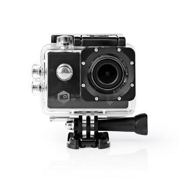 Nedis, Action Cam ,  4K@30fps ,  16 MPixel ,  Vandtæt op til: 30.0 m ,  90...