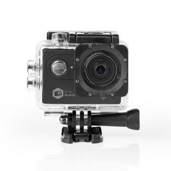 Nedis, Action Cam ,  4K@60fps ,  20 MPixel ,  Vandtæt op til: 30.0 m ,  90...
