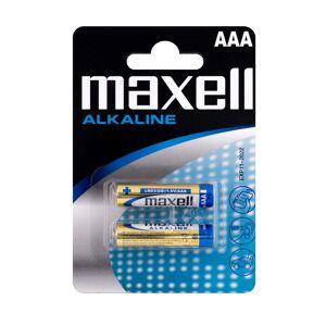 Maxell Long life Alkaline AAA / LR 03 batterier - 2 stk.