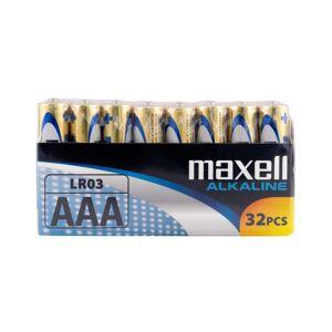 Maxell Long life Alkaline AAA / LR 03 Shrink batterier - 32 stk.