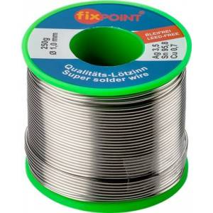 Fixpoint Loddetin lead-free, ø 1,0 mm, 250g rulle