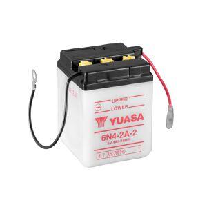 Yuasa 6N4-2A-2 (DC) 6V Batteri til Motorcykel