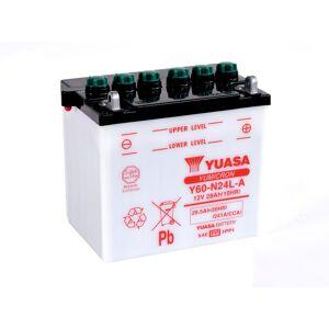 Yuasa Y60-N24L-A 12V Batteri til Motorcykel
