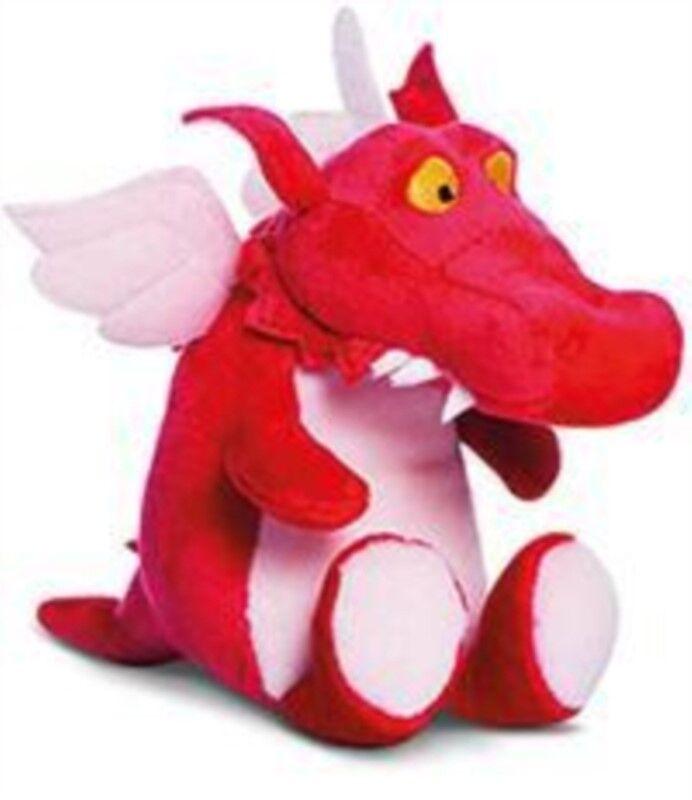 Dragon Room on the Broom Dragon Soft Toy 15cm