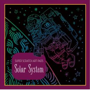 Sterling Children's Super Scratch Art Pads: Solar System