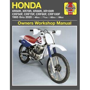 Editors of Haynes Manuals Honda XR50R, XR70R, XR80R, XR100R, CRF50F, CRF70F, CRF80F, CRF100F (85-20)