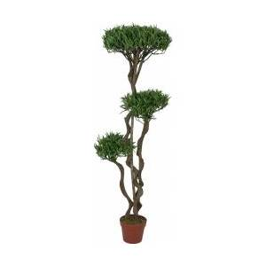 Europalms Bonsai tree, multi trunk, artificial plant, 130cm TILBUD NU