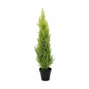 Europalms Cypress, Leyland, artificial plant, 90cm TILBUD NU