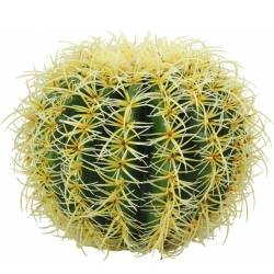 Europalms Barrel Cactus, artificial plant, green, 27cm TILBUD NU kaktus