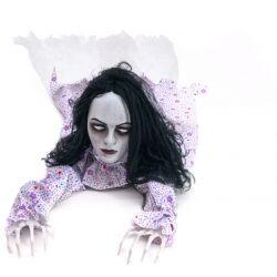 Europalms Halloween figure Crawling Girl, 150cm TILBUD NU