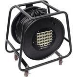 Omnitronic Multicore Stagebox 24/4 30m cable reel TILBUD kabelrulle kabel hjul