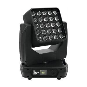 EuroLite LED TMH-X25 Zoom Moving-Head bevægersig flytende bevæger hoved sig