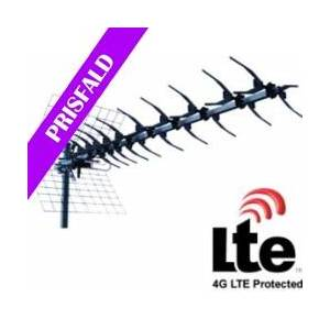 UHF antenne 10 elementer, 12db forstærkning (TV/DVB-T) TILBUD fjernsyn elements