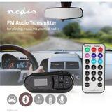 Nedis FM-sender til bil   Bluetooth®   microSD-kortslot   Håndfri opkald, CATR10