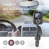 Nedis Car DAB+/FM-sender   Bluetooth®   microSD-kortstik   Håndfri telefoni   2