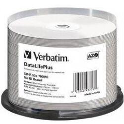 Verbatim - CD-R medie 700MB / 80 min. Non ID Printbare (50 stk.) TILBUD NU