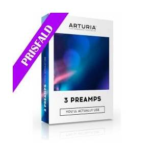 Arturia 3-PREAMPS SOFTW. PACK, A perfectly curated collection of th TILBUD NU