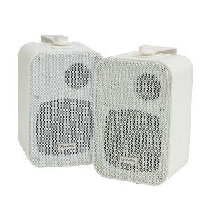 Stereo background speakers 30W white - pair baggrundshøjttalere stereoanlæg par