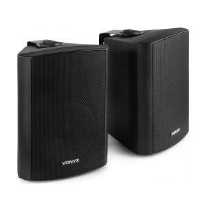 """Kompakt højttalersæt med vægmonteringsbøjle / 8 Ohm / 6.5"""" bas 12 højttaler quot"""