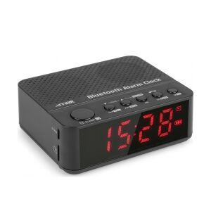 MX4 BT Clock Radio with Battery TILBUD NU batteri med ur