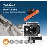 Nedis Action-kamera   Ultra HD 4K   Wi-Fi   Vandtæt etui, ACAM41BK TILBUD NU