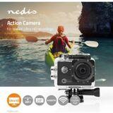Nedis Action-kamera   Real 4K Ultra HD   Wi-Fi   Vandtæt etui, ACAM61BK TILBUD