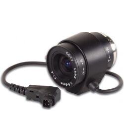 CCD zoomlinse F1,4 / 3,5-8mm, DC autoiris (2,3x zoom) TILBUD NU autoirisen