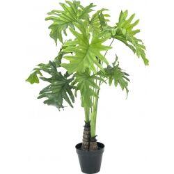 Europalms Split Philo Plant, artificial, 90cm TILBUD NU plante dele
