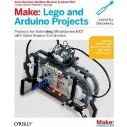 Lego Make: Lego and Arduino® Projects (Engelsk) TILBUD NU projekter lave lav og