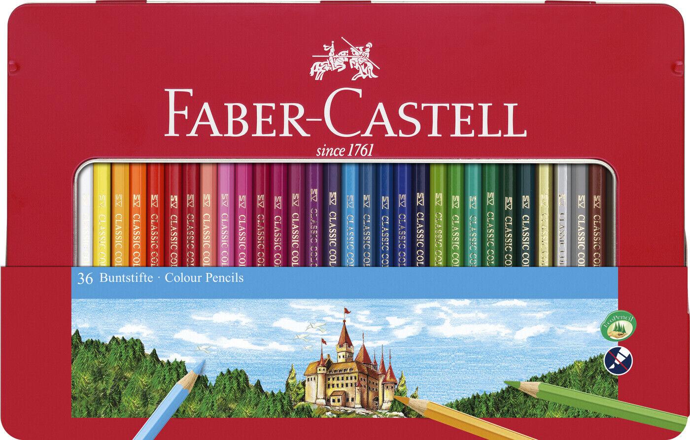 Faber Castell Farveblyanter - 36 Stk