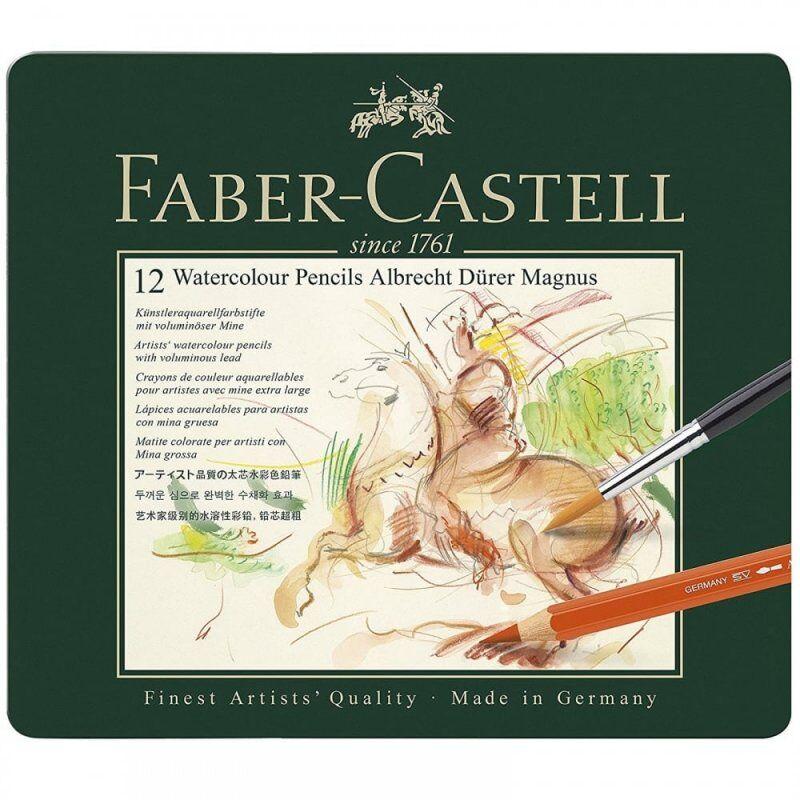 Faber-castell Vandfarve Farveblyanter - Albrecht Dürer Magnus - 12 Stk.