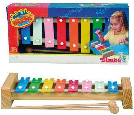 Legetøjs Xylofon Til Barn - 27 Cm