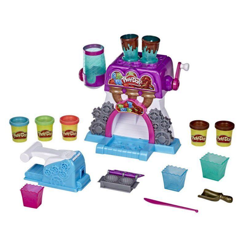 Play-Doh Kitchen - Modellervoks Sæt Til Børn - Candy