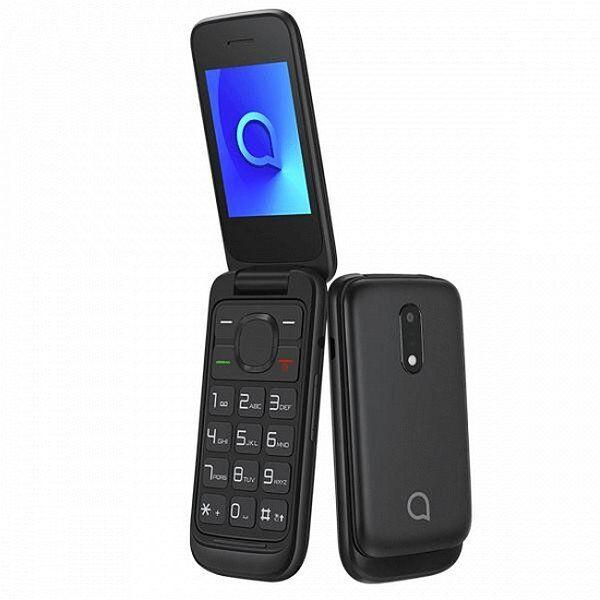 "Alcatel 2053d Mobiltelefon - 2,4"" Display - 0,3mp Kamera - 4gb - Sort"