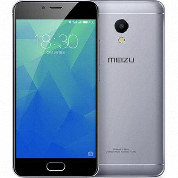 """Meizu M5s - Mobiltelefon - 5"""" Display - 16gb - 13mp - Grå"""