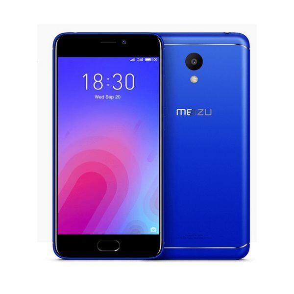 """Meizu M6 Mobiltelefon - 5,2"""" Display - 13mp Kamera - 32gb Plads - Blå"""