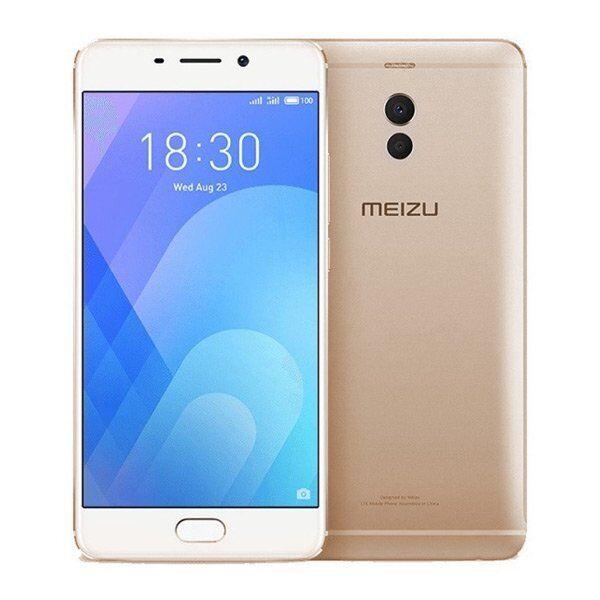"""Meizu M6 Note Mobiltelefon - 5,5"""" Display - 16mp Kamera - 32gb Plads - Guld"""