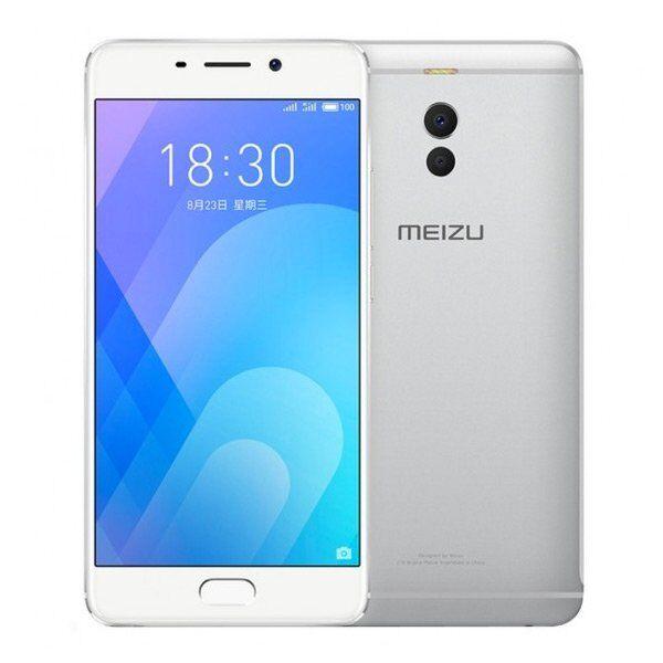 "Meizu M6 Note Mobiltelefon - 5,5"" Display - 16mp Kamera - 32gb Plads - Sølv"