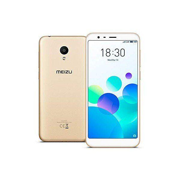 """Meizu M8c Mobiltelefon - 5,4"""" Display - 13mp Kamera - 16gb Plads - Guld"""