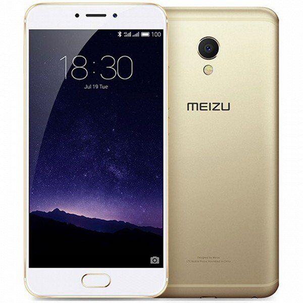 """Meizu Mx6 Mobiltelefon - 5,5"""" Display - 13mp Kamera - 32gb Plads - Guld"""