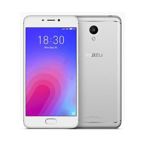 "Meizy M6 - Mobiltelefon - 5"" Display - 32gb - 13mp - Sølv"