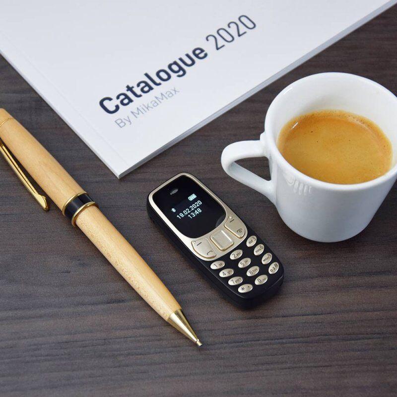 Mini Telefon - Verdens Mindste Fungerede Mobil - Mikamax